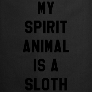 My spirit animal is a sloth Tee shirts - Tablier de cuisine
