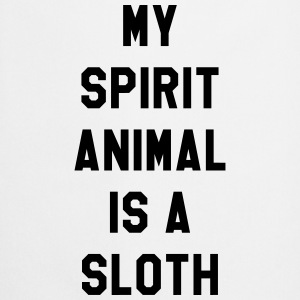 My spirit animal is a sloth T-skjorter - Kokkeforkle