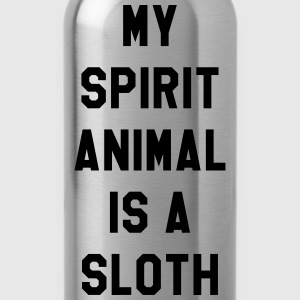 My spirit animal is a sloth T-Shirts - Water Bottle