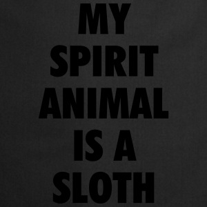 My spirit animal is a sloth T-shirts - Keukenschort