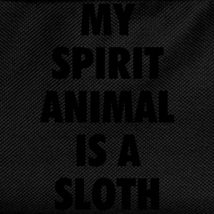 My spirit animal is a sloth T-skjorter - Ryggsekk for barn
