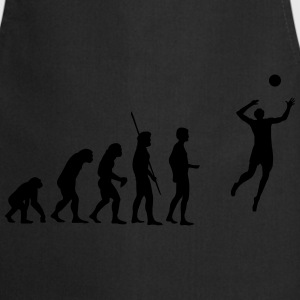 évolution de volley-ball Tee shirts - Tablier de cuisine