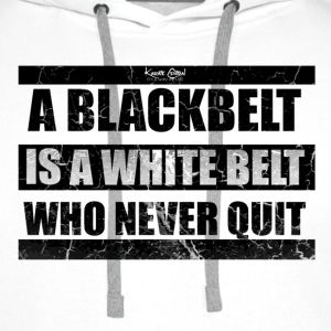 quote 1 blk.png T-Shirts - Men's Premium Hoodie