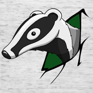 naughty Badger  T-Shirts - Women's Tank Top by Bella