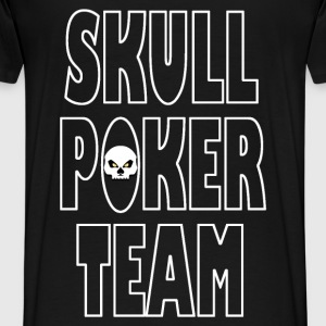 skull poker team 04 Sweat-shirts - T-shirt Premium Homme