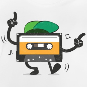 Dancing Cassette Tape (Vintage Style) Shirts - Baby T-shirt