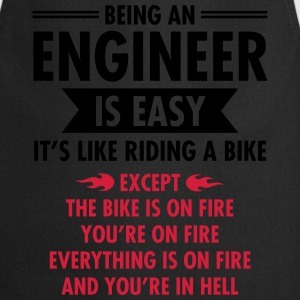 Being An Engineer Is Easy... T-shirts - Keukenschort