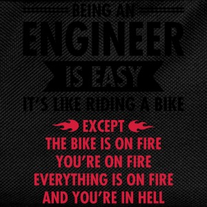 Being An Engineer Is Easy... Tee shirts - Sac à dos Enfant