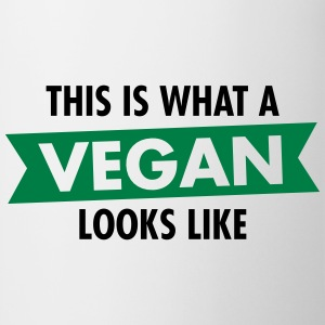 This Is What A Vegan Looks Like Camisetas - Taza