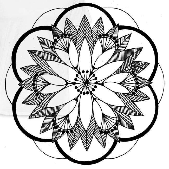 Pond Bouquet Mandala