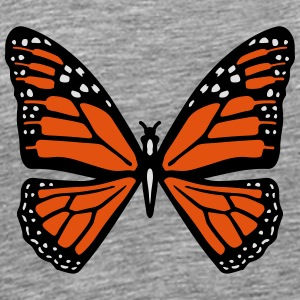 Snowy butterfly Long Sleeve Shirts - Men's Premium T-Shirt