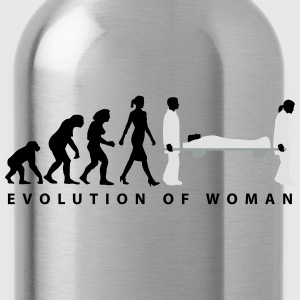 evolution_sanitaeterin_09_201601_3c T-Shirts - Trinkflasche