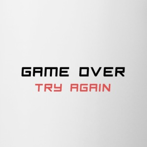 Game Over Camisetas - Taza