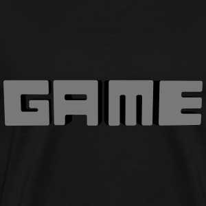 game 3d Tops - Men's Premium T-Shirt