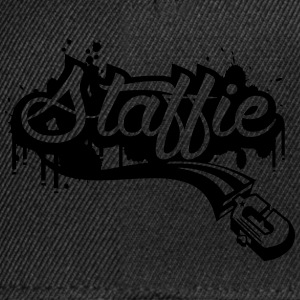 Staffie graffiti Sweat-shirts - Casquette snapback