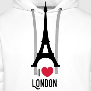 london T-Shirts - Men's Premium Hoodie