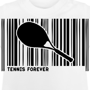 barcode schlaeger tennis 902 T-Shirts - Baby T-Shirt
