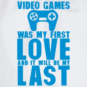 video games was my first love last manet T-Shirts - Turnbeutel