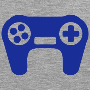video game controller _901 T-Shirts - Männer Premium Langarmshirt