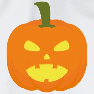 Halloween-Pumpkin light T-Shirts - Drawstring Bag