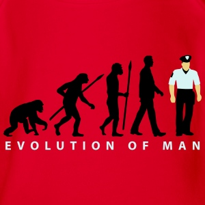 evolution_a_us_cop_police_marshall_09_20 T-Shirts - Baby Bio-Kurzarm-Body
