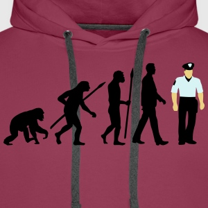 evolution_a_us_cop_police_marshall_09_20 T-Shirts - Männer Premium Hoodie