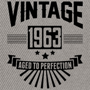 VINTAGE 1963 - Aged To Perfection  T-Shirts - Snapback Cap