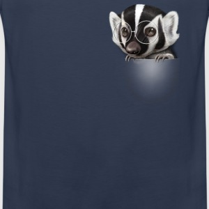 POCKET BADGER - Men's Premium Tank Top