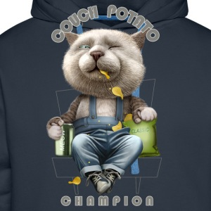 COUCH POTATO CHAMPION - Men's Premium Hoodie