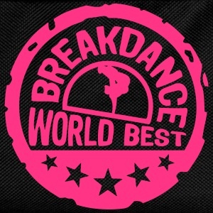 breakdance world best stars buffer 5 Langarmshirts - Kinder Rucksack