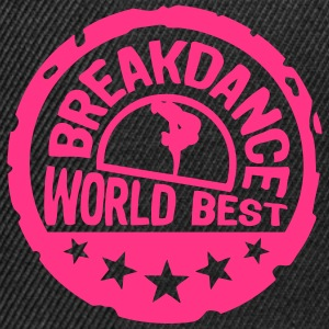 breakdance world best stars buffer 5 Langarmshirts - Snapback Cap