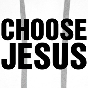 CHoose Jesus - Men's Premium Hoodie