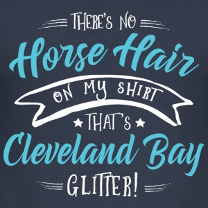 Glitter Cleveland Bay  Hoodies & Sweatshirts - Men's Slim Fit T-Shirt
