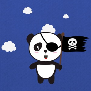 Pirate Panda with flag Shirts - Kids' Premium Hoodie