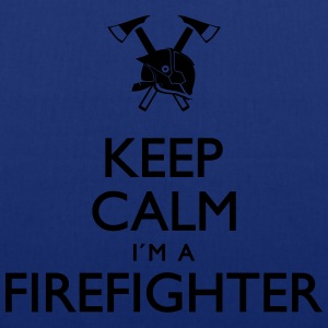 Keep calm Firefighter - Stoffbeutel