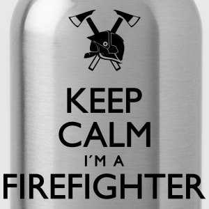 Keep calm Firefighter - Trinkflasche