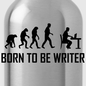 born to be writer T-Shirts - Water Bottle