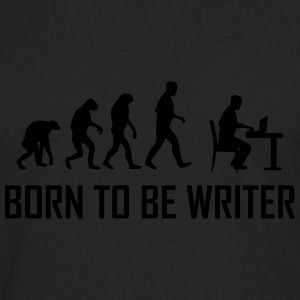 born to be writer T-Shirts - Men's Premium Longsleeve Shirt