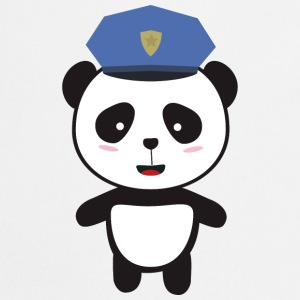 Panda-policeman Tops - Cooking Apron