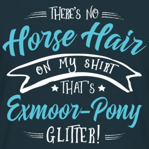 Glitter Exmoor-Pony  Hoodies & Sweatshirts - Men's T-Shirt