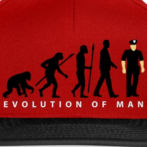 evolution us_cop_police_marshall_sheriff T-Shirts - Snapback Cap