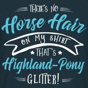 Glitter Highland-Pony  Hoodies & Sweatshirts - Men's T-Shirt