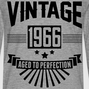 VINTAGE 1966 - Aged To Perfection  T-Shirts - Men's Premium Longsleeve Shirt