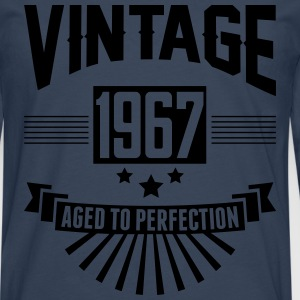 VINTAGE 1967 - Aged To Perfection  T-Shirts - Men's Premium Longsleeve Shirt