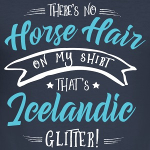 Glitter Icelandic  Hoodies & Sweatshirts - Men's Slim Fit T-Shirt