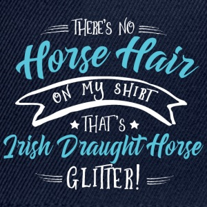 Glitter Irish Draught Horse  Hoodies & Sweatshirts - Snapback Cap