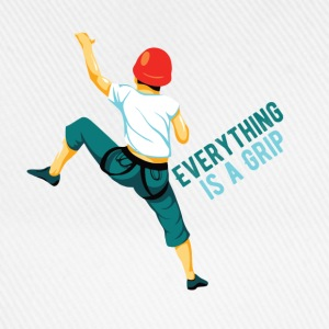 Everything is a Grip - Baseballkappe