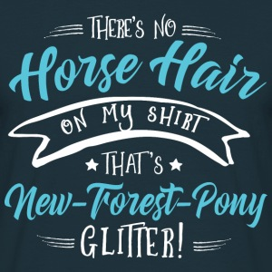 Glitter New-Forest- Pony  Hoodies & Sweatshirts - Men's T-Shirt