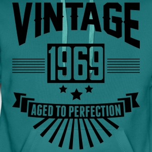 VINTAGE 1969 - Aged To Perfection  T-Shirts - Men's Premium Hoodie