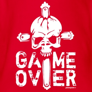 Game Over Langarmshirts - Baby Bio-Kurzarm-Body